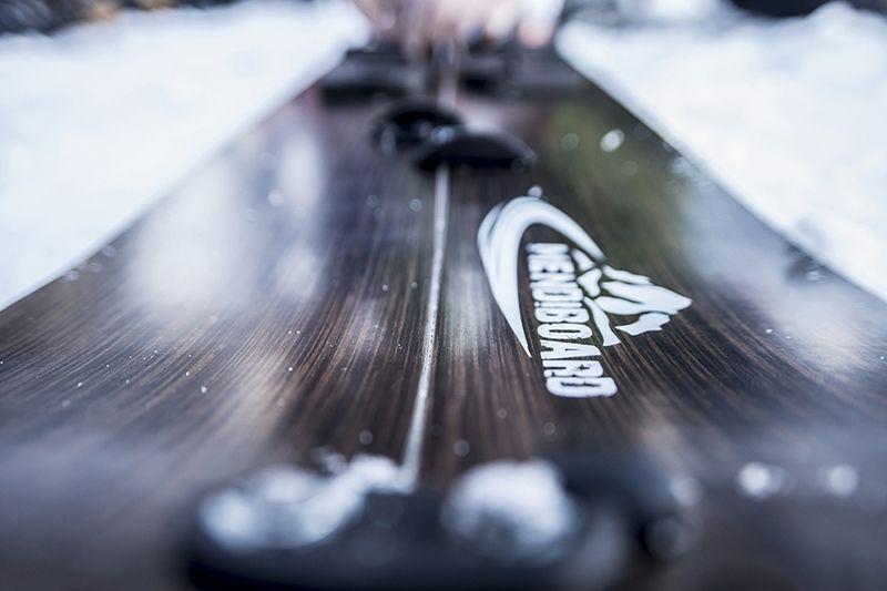 fabricación de una tabla de splitboarding