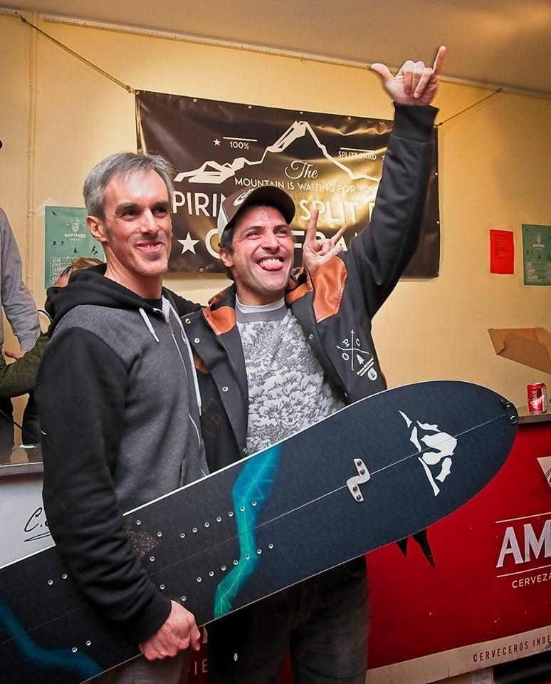 Ganador de una tabla Sunnmore de Mendiboard